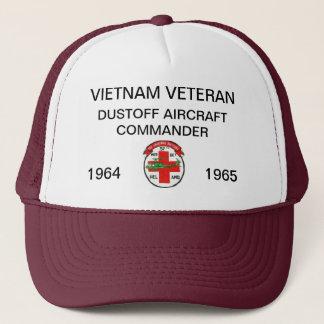 57th DUSTOFF AIRCRAFT COMMANDER MESH HAT