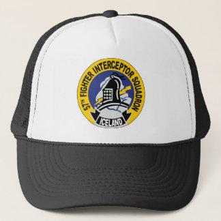 57th Fighter Interceptor Squadron Trucker Hat