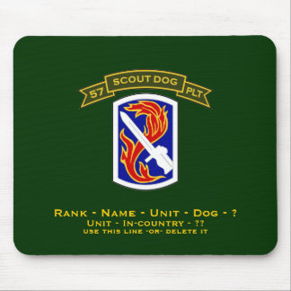 57th IPSD - 198th LIB Mouse Pad