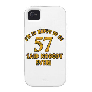 57th year anniversary Case-Mate iPhone 4 case