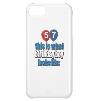 57th year birthday designs iPhone 5C case