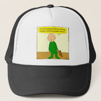 580 It's hard being a cartoon Trucker Hat
