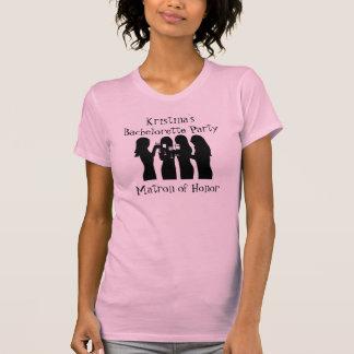 58192, Party Girl Bachelorette Party (Matron) T Shirt