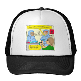 584 trained tapeworm weight loss cartoon hat