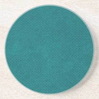 588Teal TEAL BLUE POLKA DOT PATTERN DIGITAL WALLP Coaster