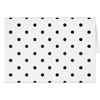 589_polka-dots-09-overlay BLACK WHITE POLKADOTS DO Card