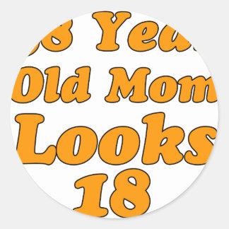 58 años de la mamá miran 18
