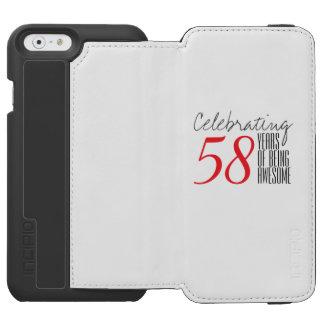 58 años de ser impresionante funda cartera para iPhone 6 watson