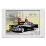 58 chevy Impala Print