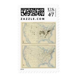 58 Coal 1890, iron ore 1889 Postage