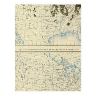 58 Coal 1890, iron ore 1889 Postcard