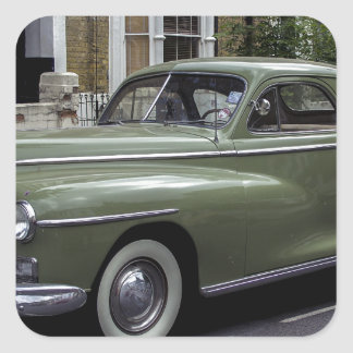 '58 Dodge Pegatina Cuadrada