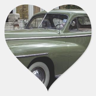 '58 Dodge Pegatina En Forma De Corazón