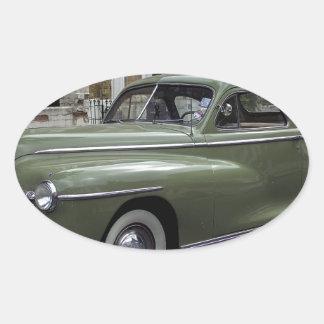 '58 Dodge Pegatina Ovalada