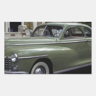 '58 Dodge Pegatina Rectangular