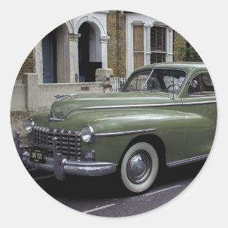 '58 Dodge Pegatina Redonda