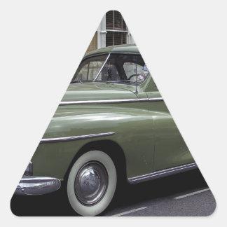 '58 Dodge Pegatina Triangular