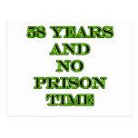 58 ninguna hora de prisión postal
