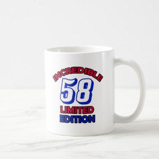 58.o Diseño del cumpleaños Taza De Café
