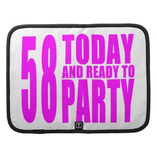 58.os cumpleaños de los chicas: 58 hoy y aliste planificador