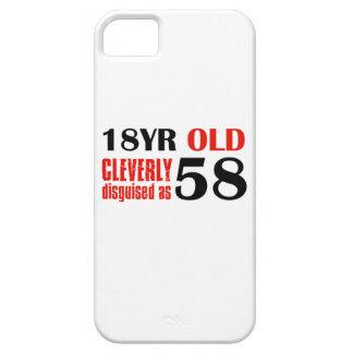 58.os diseños de los años iPhone 5 Case-Mate protectores