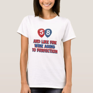 58 year old birthday gifts T-Shirt