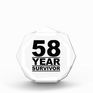 58 year survivor award
