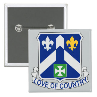 58th Infantry Regiment - Love Of Country Button