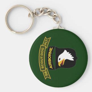 58th IPSD - 101st Airborne Keychains