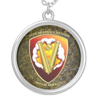 58th Ordnance Brigade Patch Camo Version Necklace