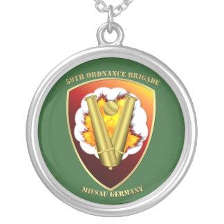 58th Ordnance Brigade Patch Pendants