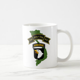 58th Scout Dog Platoon 101ID Coffee Cup