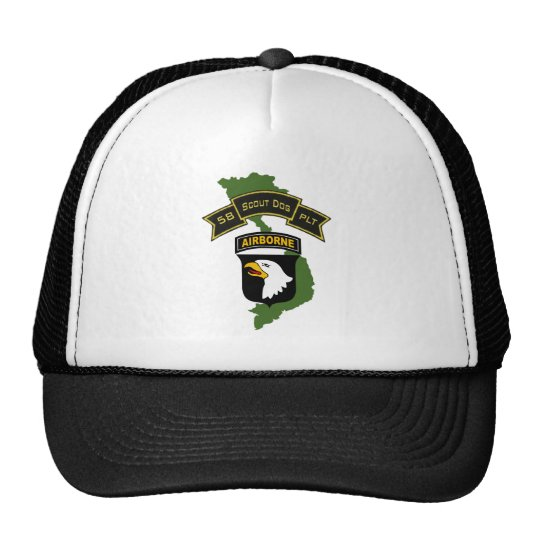 58th Scout Dog Platoon 101ID Hat
