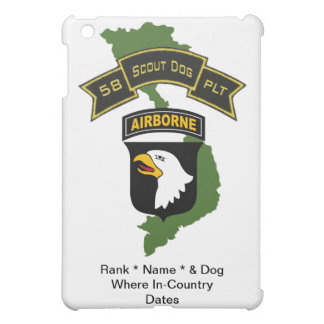 58th Scout Dog Platoon 101ID IPad Case