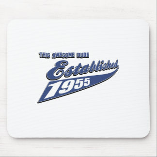 58th year old designs mouse pad