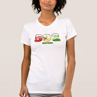 592 Area code for Guyana Tees