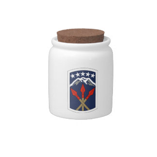 593rd Sustainment Brigade Candy Jars
