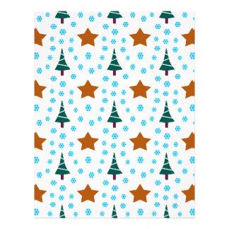 597 Cute Christmas tree and stars pattern.jpg Letterhead