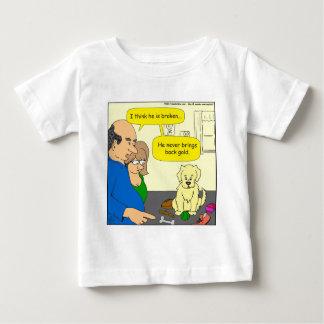 598 bring back gold cartoon shirt