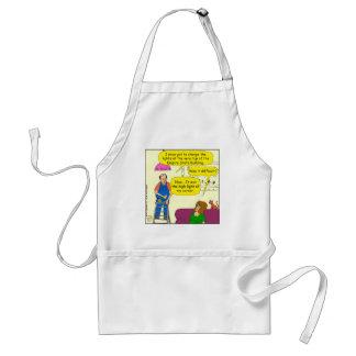 599 high light of my life cartoon adult apron