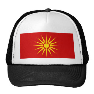 599px-Flag_of_the_Republic_of_Macedonia_1991-1995. Trucker Hat