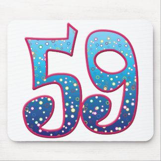 59 Age Rave Mousepad