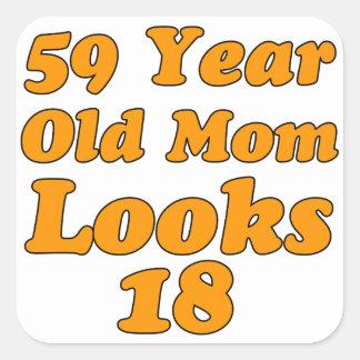 59 años de la mamá miran 18