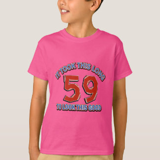 59 birthday design T-Shirt