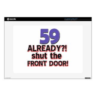 59 cierre ya la puerta principal skins para 38,1cm portátil