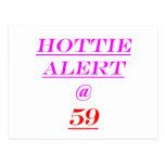 59 Hottie Alert Postcards