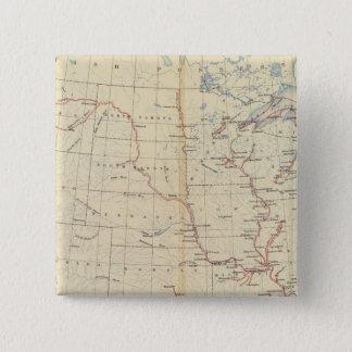 59 Navigable rivers, routes 1890 Button