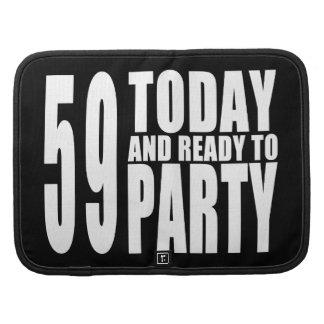 59.o Fiestas de cumpleaños: 59 hoy y aliste para Organizadores