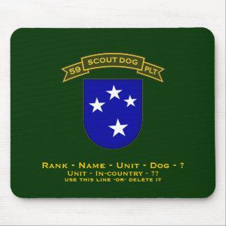 59.o IDSD - 23d infantería Tapetes De Raton