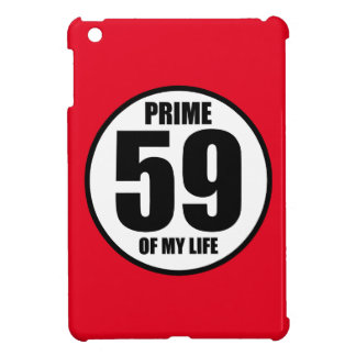59 - prime of my life iPad mini cases